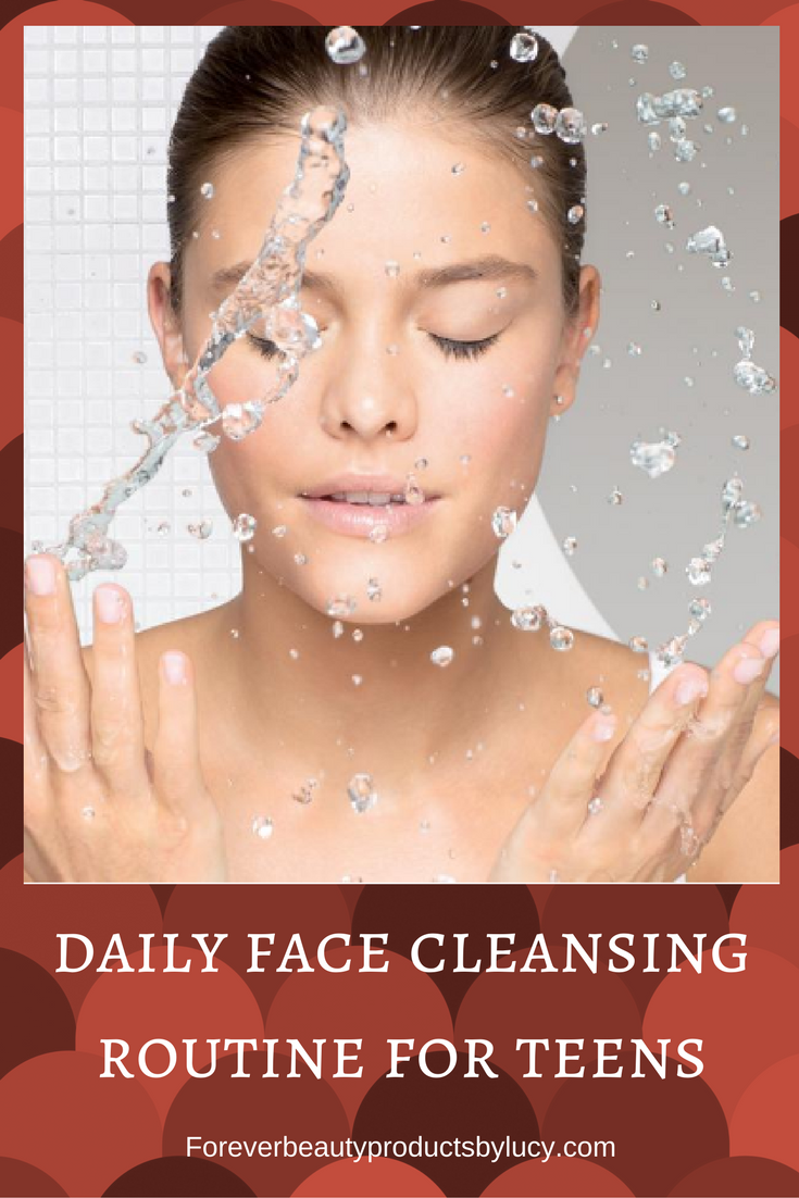 Best Face Cleansing Routine for Teens