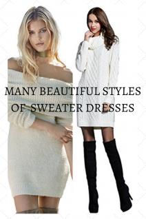 Cute Sweater Dresses Women