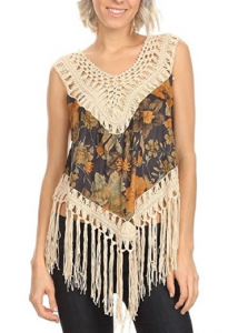 Fringe Clothing For Women, Women Sexy Summer Tops